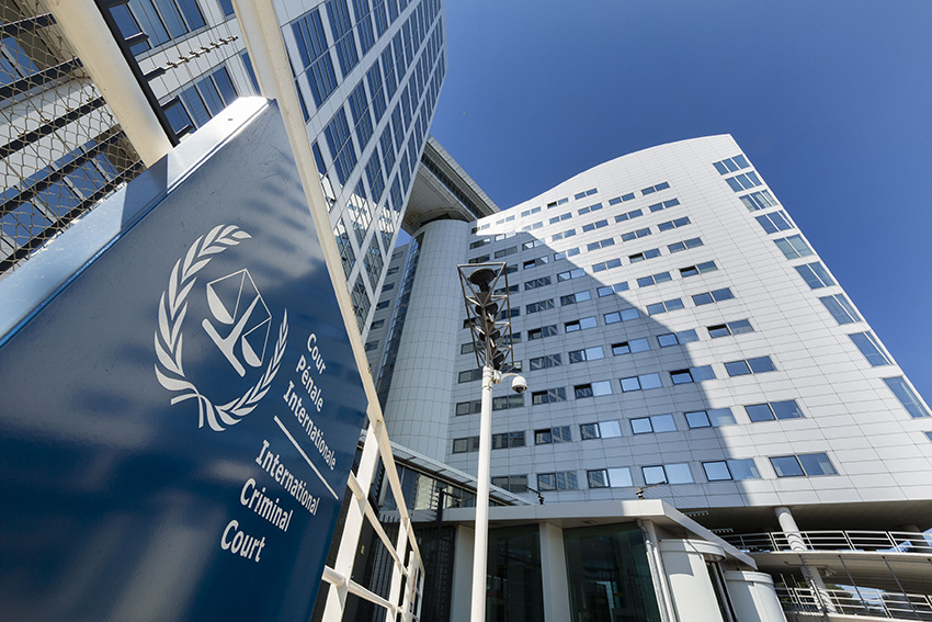 THE HAGUE, NETHERLANDS - JULY 23: View of the International Criminal Court as Dutch prosecuters consider a war crimes investigation of the Malaysia Airlines crash July 23, 2014 in The Hague, The Netherlands. Malaysia Airlines flight MH17 was travelling from Amsterdam to Kuala Lumpur when it crashed killing all 298 on board including 80 children. The aircraft was allegedly shot down by a missile and investigations continue over the perpetrators of the attack. (Photo by Michel Porro/Getty Images)