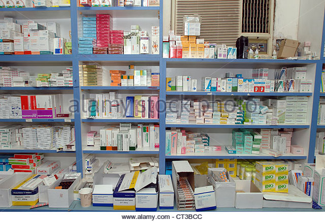 a-range-of-drugs-stored-on-the-shelves-of-a-hospital-pharmacy-in-sudan-ct3bcc