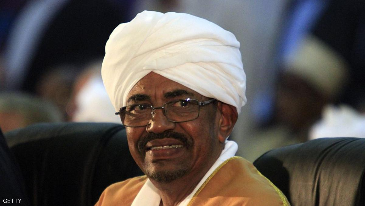 "Sudanese President Omar al-Bashir attends the Fourth General Conference of the ruling National Congress Party in Sudan following his announcement that he is to seek re-election in 2015's presidential elections in Khartoum on October 23, 2014. Sudanese opposition groups sharply criticised Bashir's reelection bid, with one saying his party does ""not respect democracy."" AFP PHOTO/ASHRAF SHAZLY        (Photo credit should read ASHRAF SHAZLY/AFP/Getty Images)"