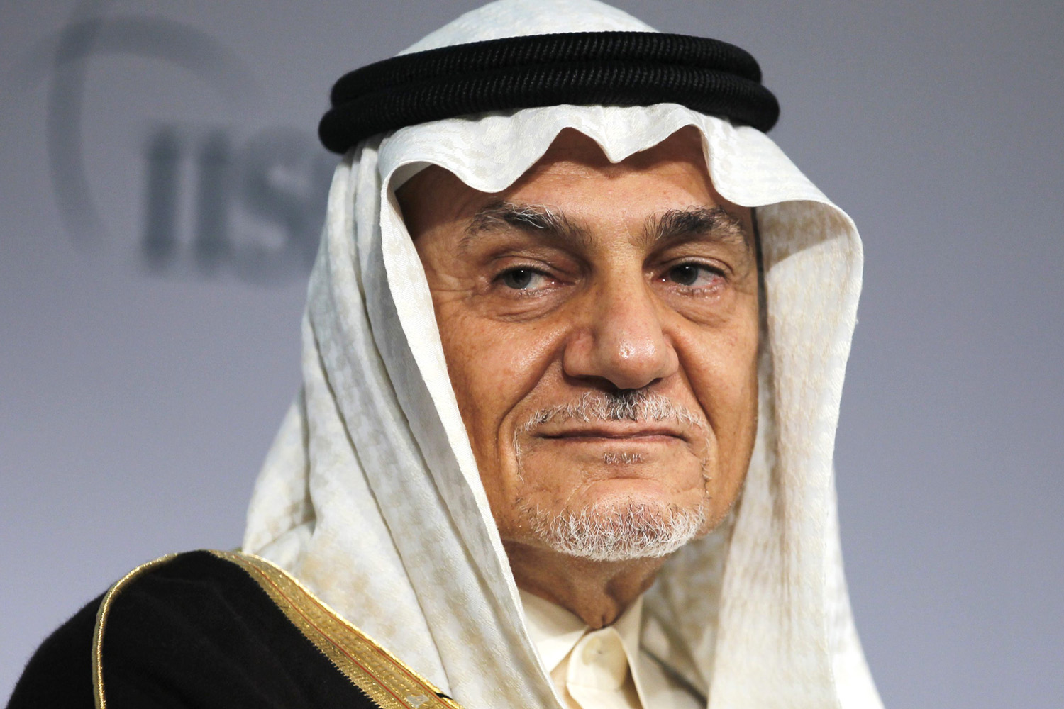 Former Head of Saudi intelligence and current Saudi King Faisal Center for Research and Islamic Studies Chairman Prince Turki Al Faisal Al Saud attends a close session meeting at the IISS Regional Security Summit - The Manama Dialogue in Manama, December 8, 2013. REUTERS/Hamad I Mohammed (BAHRAIN - Tags: POLITICS MILITARY HEADSHOT ROYALS)