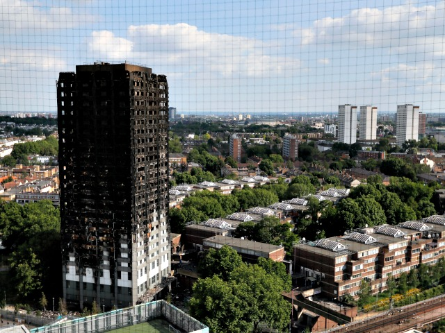 London Fire Photo by Kirsty Wigglesworth AP